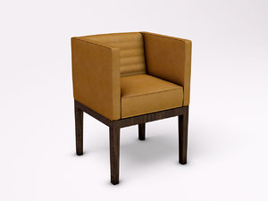 3d david linley dice chair