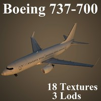 3ds max boeing 737-700