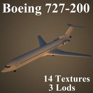 boeing 727-200 max