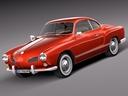 Karmann Ghia 3D models