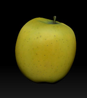 apple 3d obj