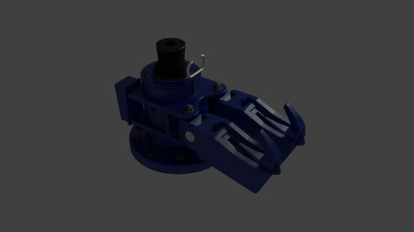 quick release hook 3d model