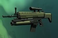 yildirim-thunder rifle 3d model