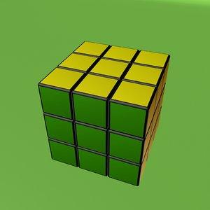 3d rubics cube