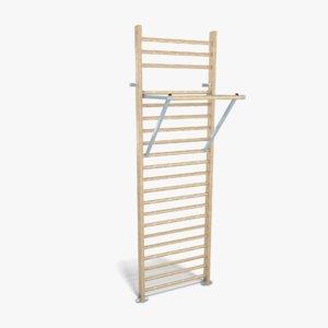 gymnastic ladder 3d model