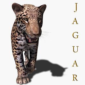 realistic jagua 3d model