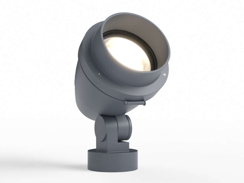 erco outdoor beamer projector 3d model
