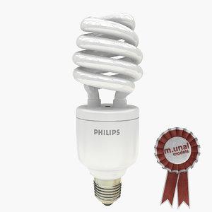 3d model energy bulb