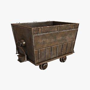 3d cart mining model