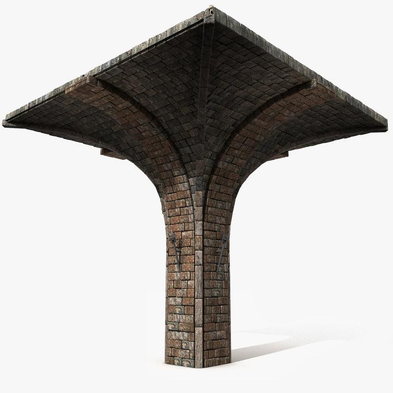 arch arc 3d model