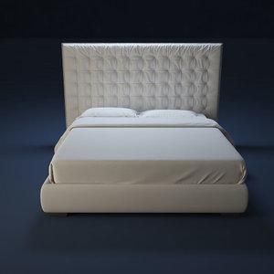 3d model flou bed sanya87