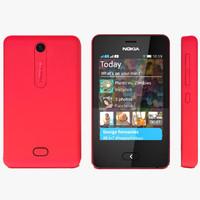 nokia asha 3d model