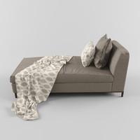 crescent-sofa 3d max