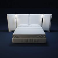 FLOU bed AngleD