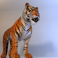 3d max realistical tiger animation
