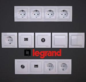 3d light switch legrand