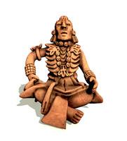 3dsmax decorative mayan merchant statue