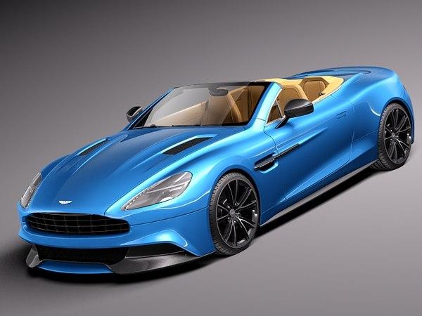 3d 2014 sport aston martin model