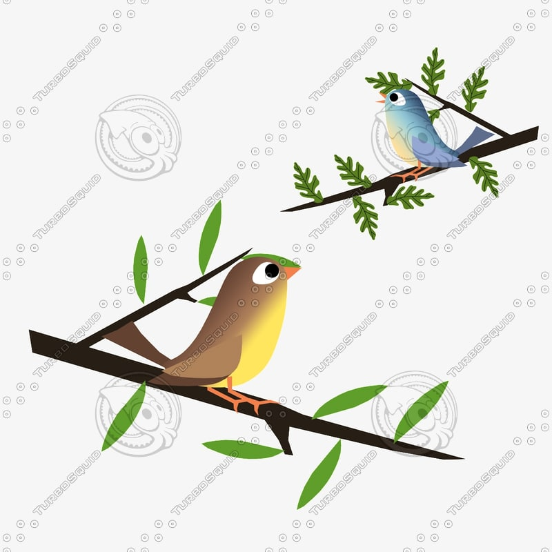 birds animation 3d 3ds