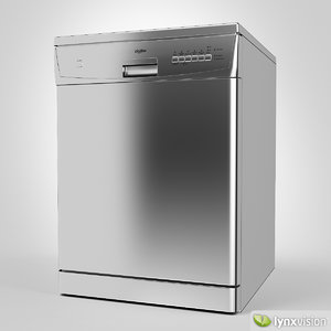 dishlex dishwasher 3d model