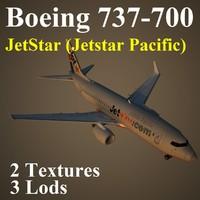boeing 737-700 jst 3d model