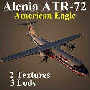 3d alenia egf model