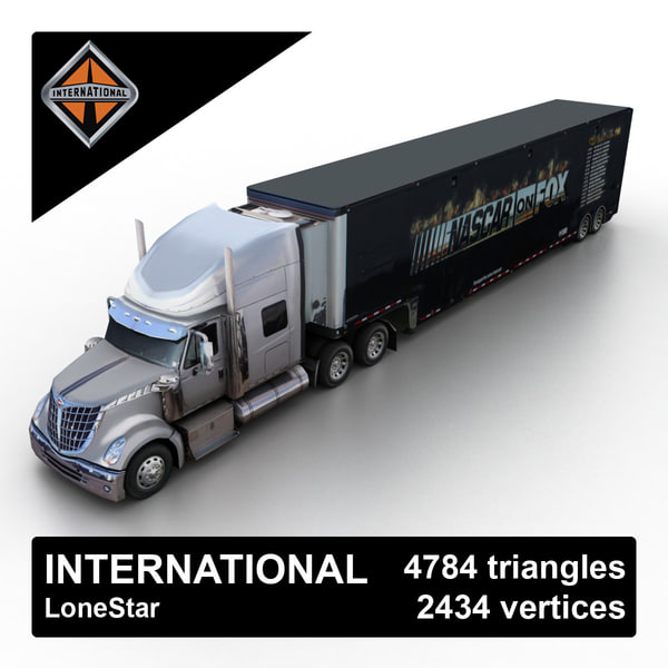 2013 international lonestar 3d max