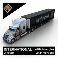2013 international lonestar 3d max