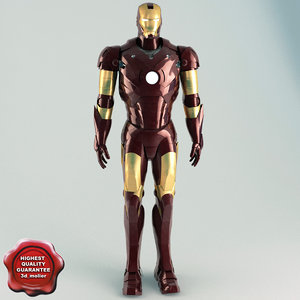 3ds iron man static