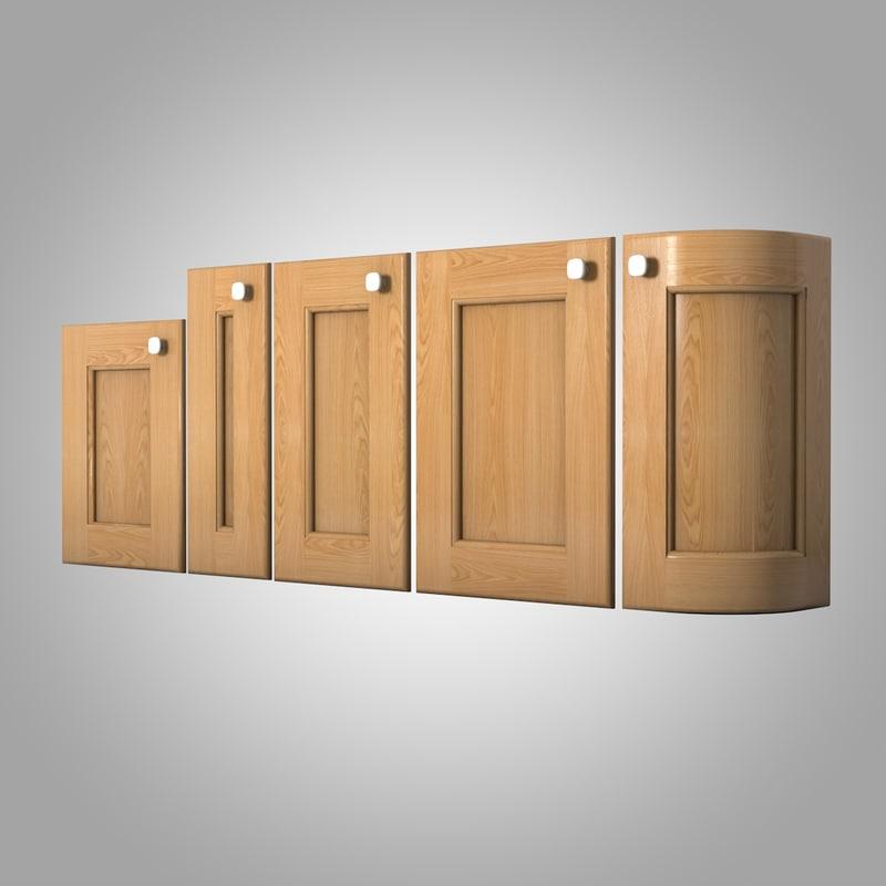 3ds kitchen doors