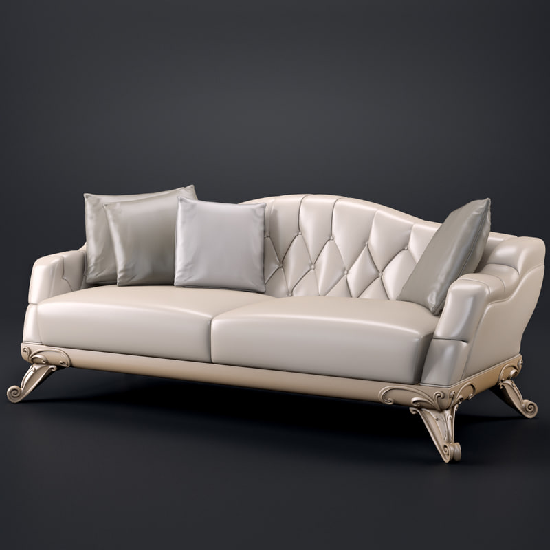 3dsmax meroni 347d sofa