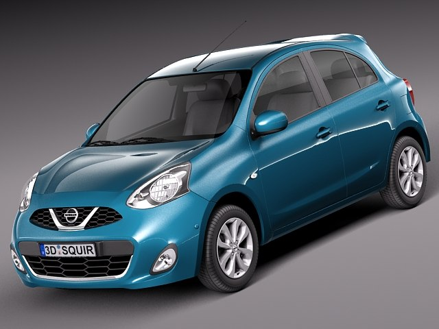 3d 2013 2014 nissan micra model. Black Bedroom Furniture Sets. Home Design Ideas