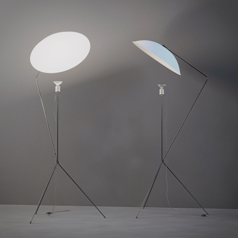 Model floor lamp 3d model floor lamp aloadofball Image collections