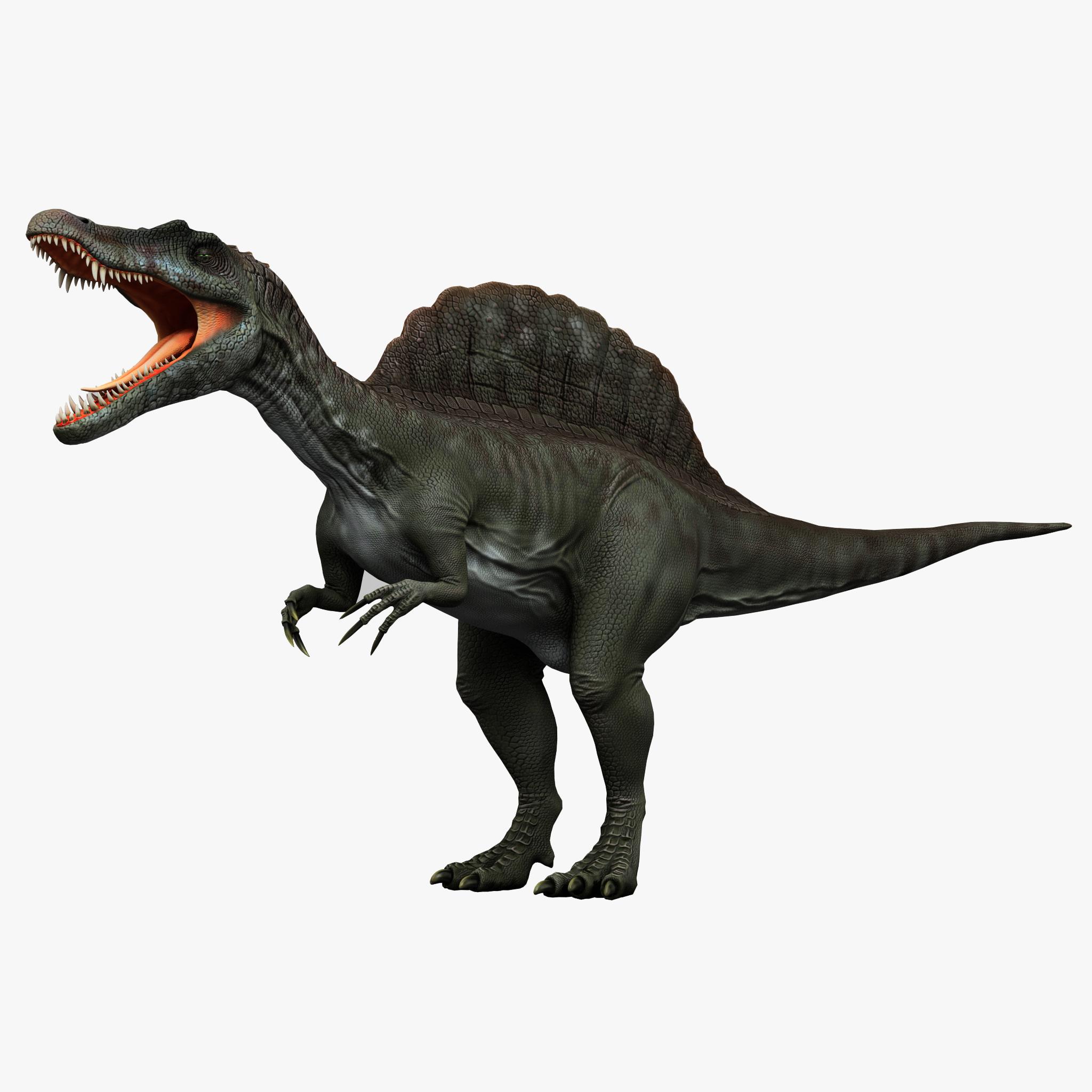 3dsmax Spinosaurus Prehistoric Modelled