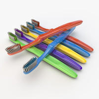 3d toothbrush 02 model