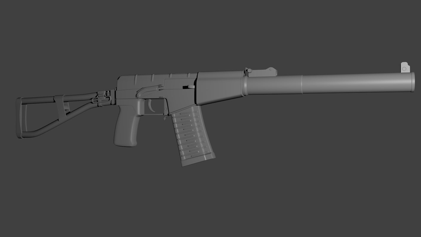 3d val assault rifle