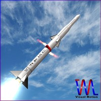 USAF Blue Scout Jr Rocket