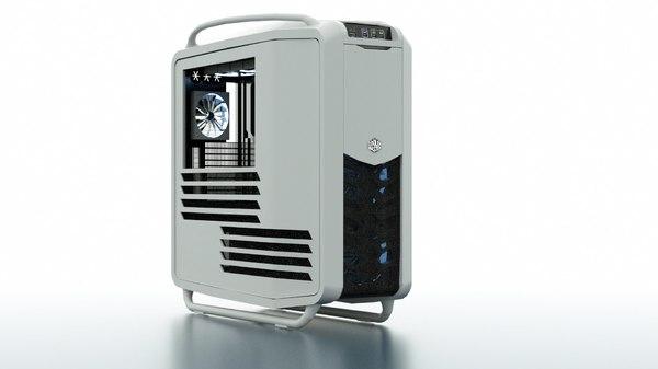 cooler master cosmos 2 3d model