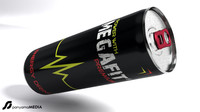 3d model energy drink