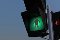 traffic sign gesig 3d 3ds