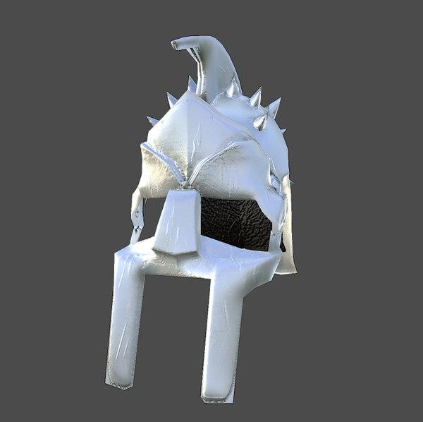 3ds max helmet gladiator