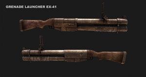 3d grenade launcher ex-41