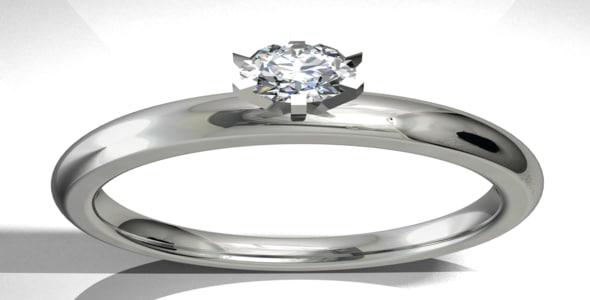 3d ring design model