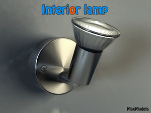 lamp interiors 3d model