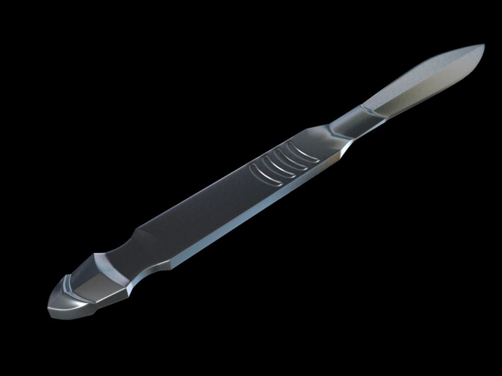 3ds max medical scalpel