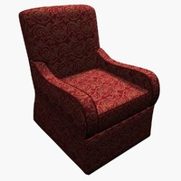 chair kravet marshall 3d max