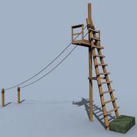 3d model slide life