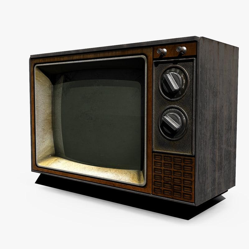Tv Unit Free 3D model
