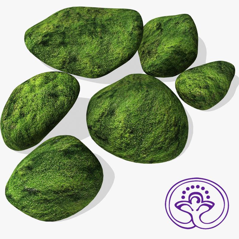 3ds mossy stones