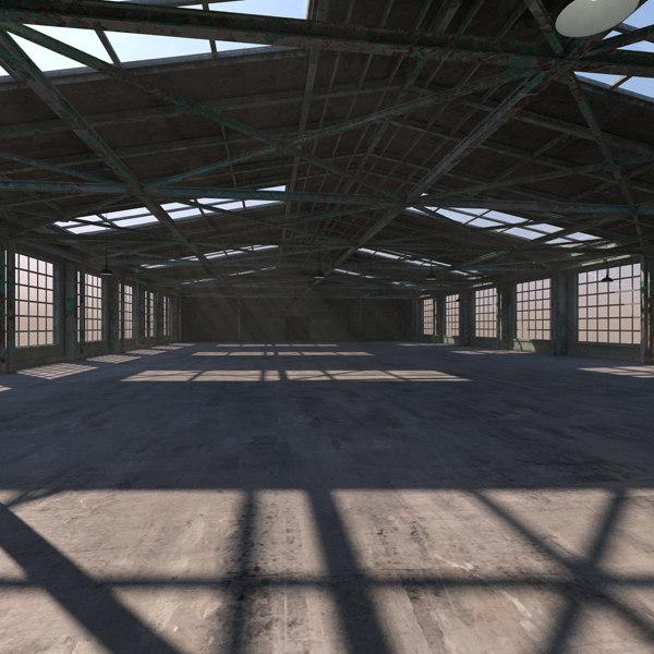 3d max warehouse interior